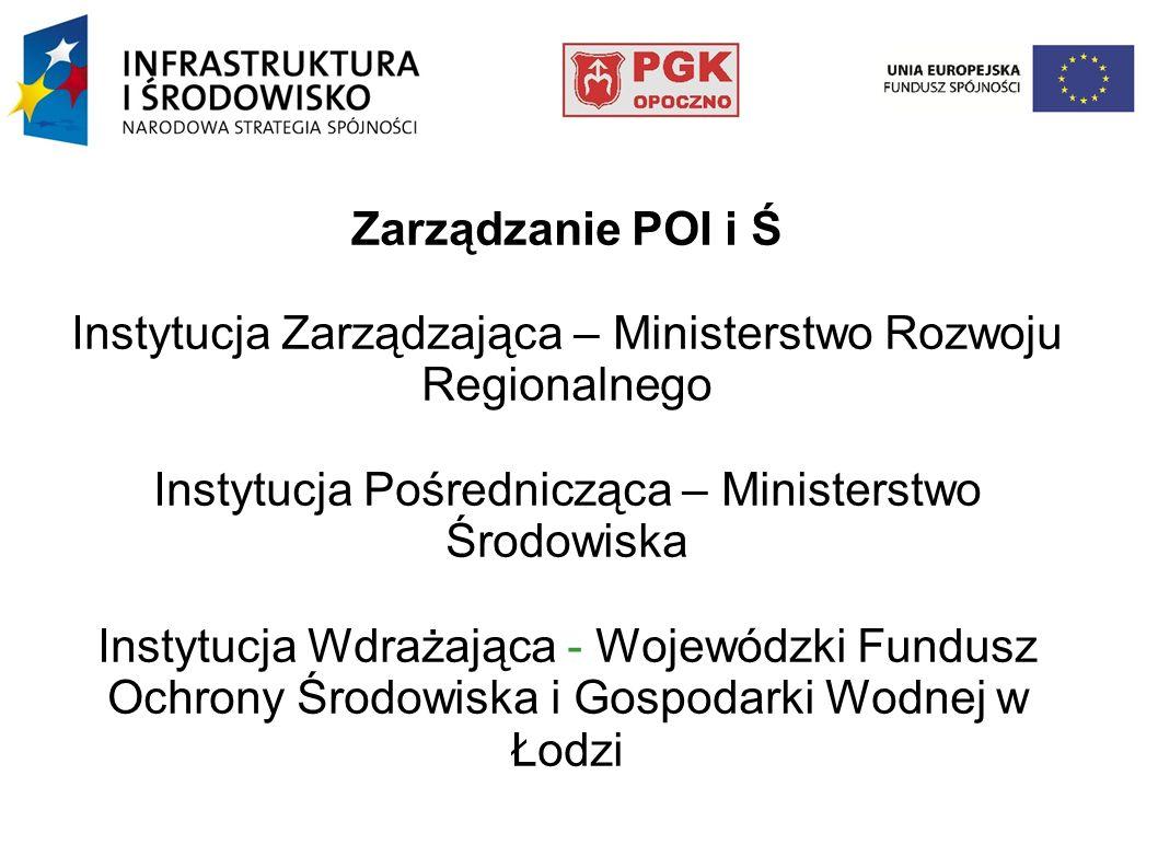 Budowa infrastruktury wodno- ściekowej na terenie gminy Opoczno.