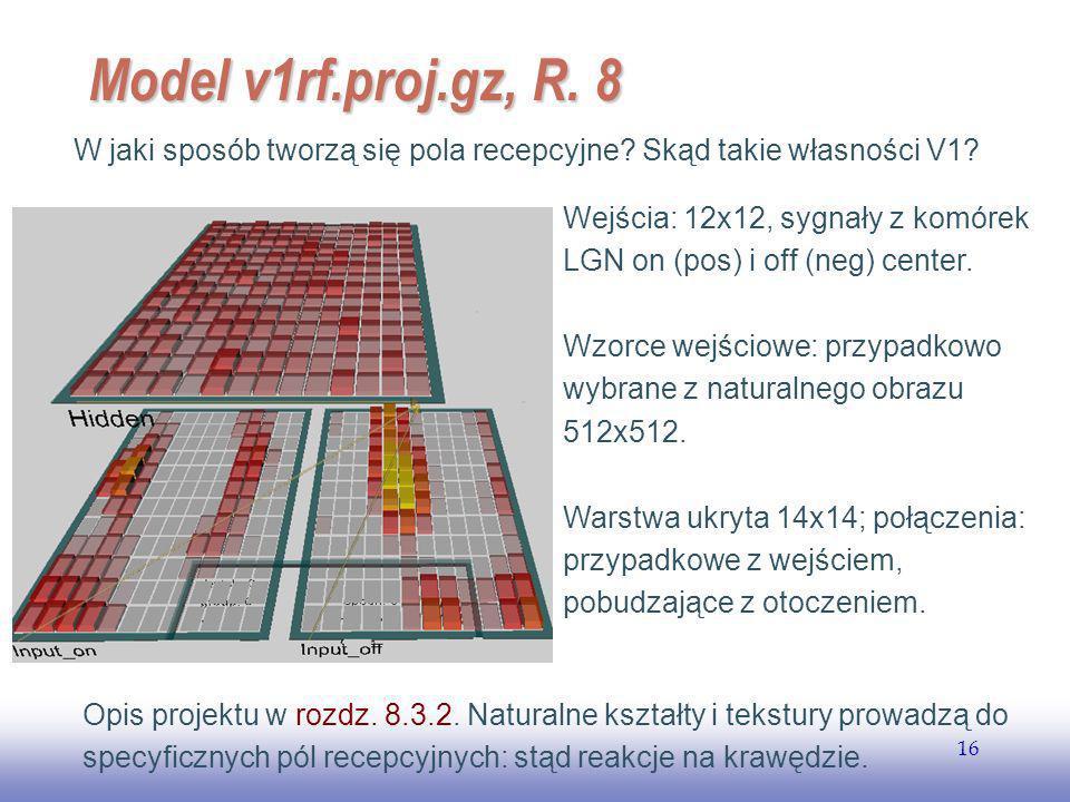 EE141 16 Model v1rf.proj.gz, R.8 W jaki sposób tworzą się pola recepcyjne.