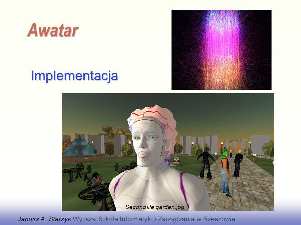 EE141 Implementacja Awatar Janusz A. Starzyk Wyższa Szkoła Informatyki i Zarządzania w Rzeszowie Second life garden.jpg