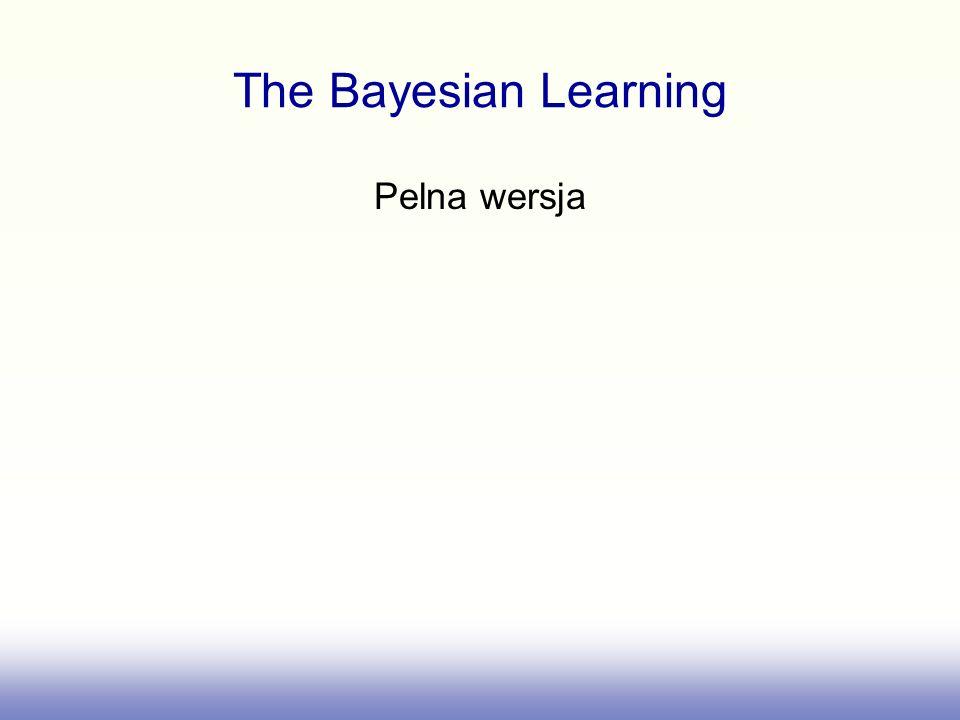 The Bayesian Learning Pelna wersja