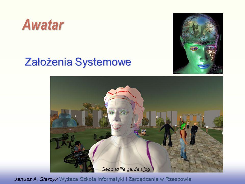 EE141 Założenia Systemowe Awatar Janusz A.