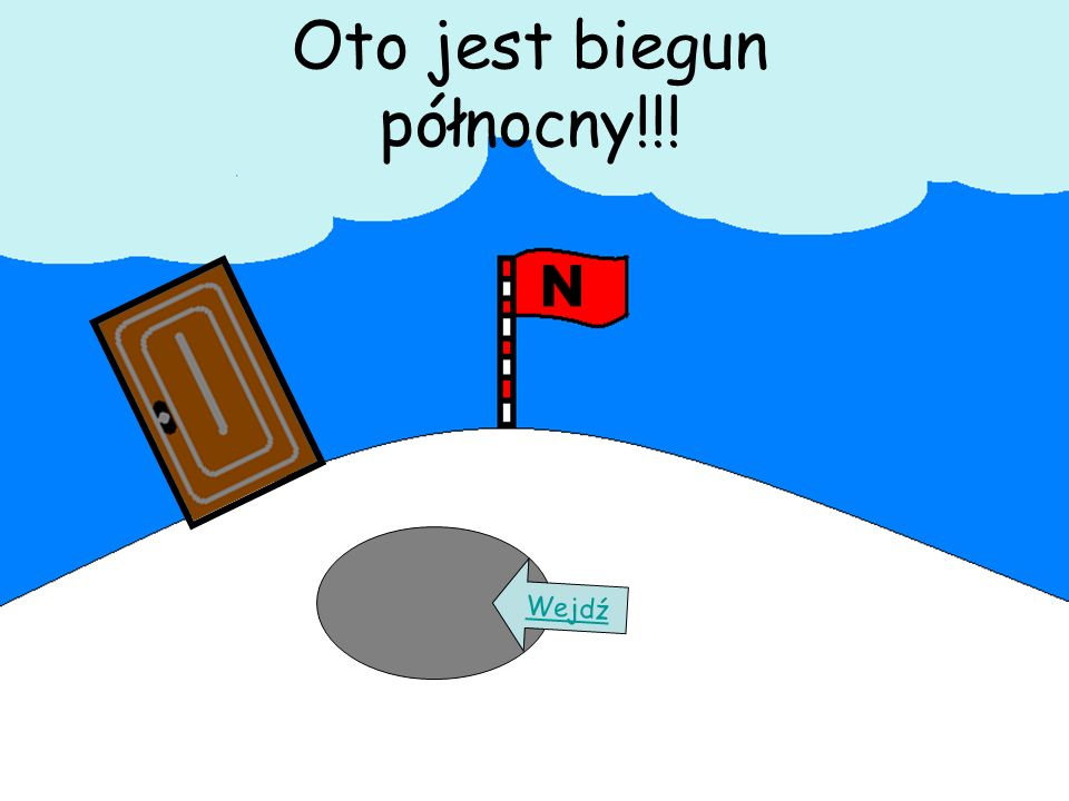 Oto jest biegun północny!!! Wejdź