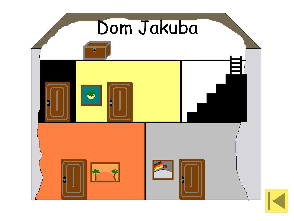 Za tymi drzwiami jest pokój gościnny w którym śpi ciocia Jakuba. Lepiej jej nie przeszkadzaj!