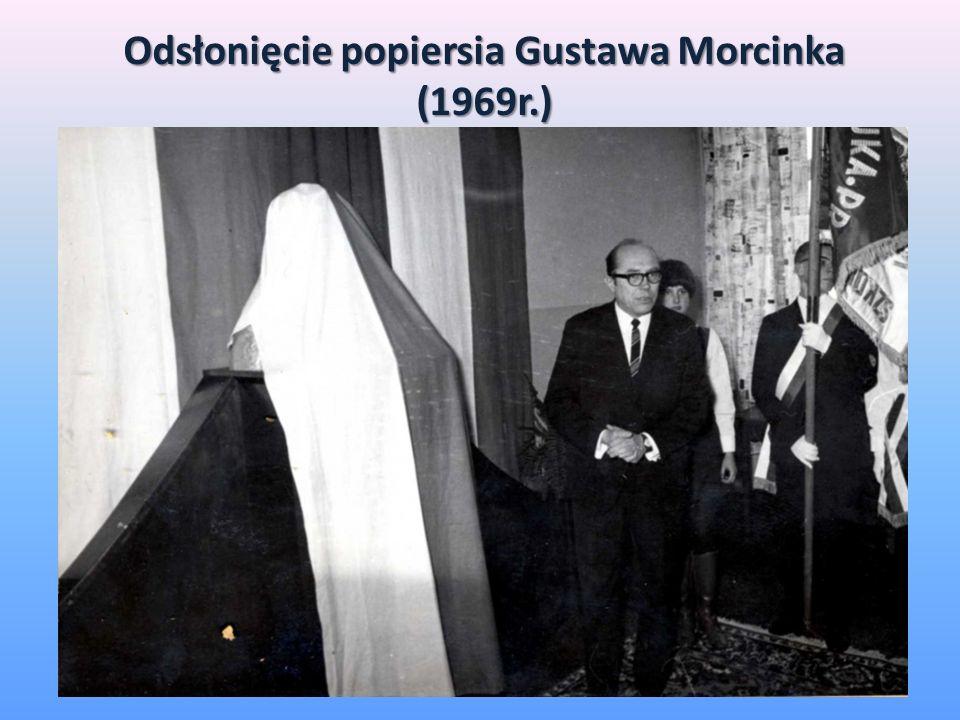 Odsłonięcie popiersia Gustawa Morcinka (1969r.)