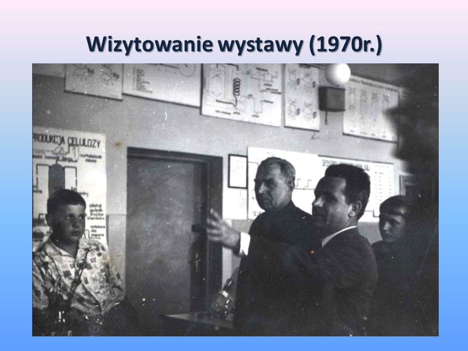 Wizytowanie wystawy (1970r.)