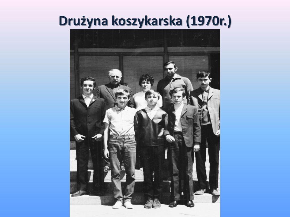 Drużyna koszykarska (1970r.)