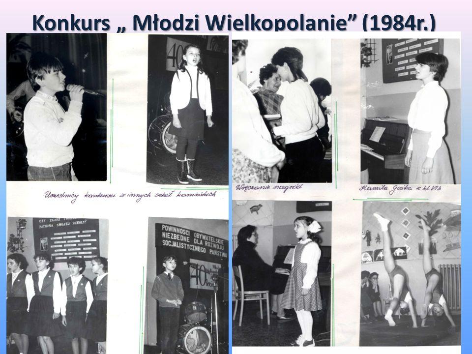 Konkurs Młodzi Wielkopolanie (1984r.)