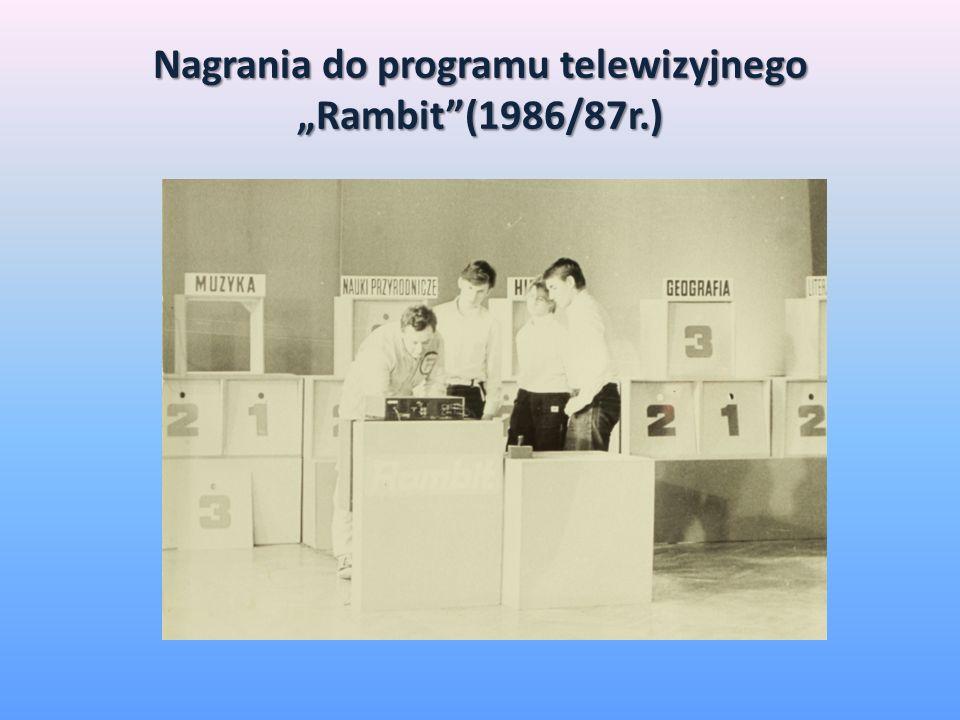 Nagrania do programu telewizyjnego Rambit(1986/87r.)