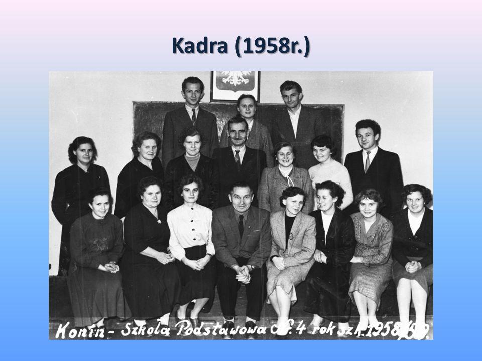 Wręczenie sztandaru Szczepowi Drużyn ZHP w SP nr 4 (1977r.)