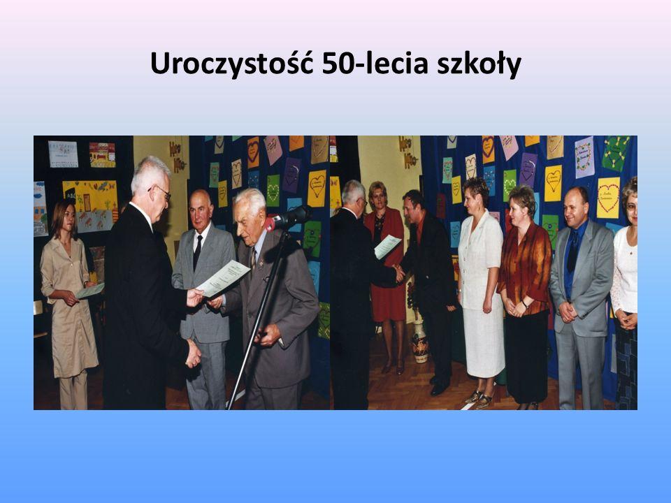 Uroczystość 50-lecia szkoły