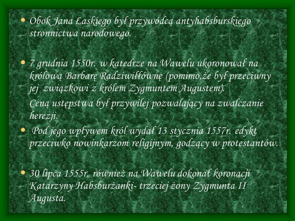 POLITYCZNY TESTAMENT W 1558r.
