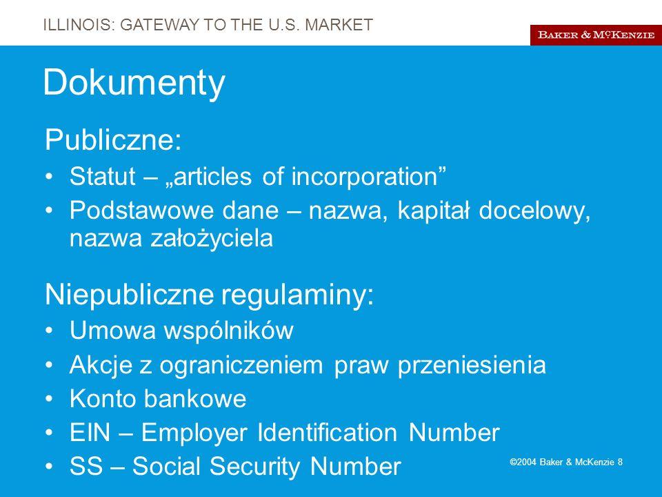ILLINOIS: GATEWAY TO THE U.S.