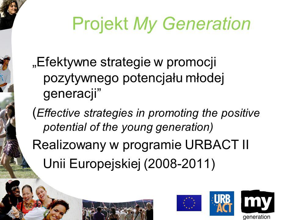 Rozwój My Generation w Warszawie -Obecnie trwają prace przygotowujące dzielnicowe rady młodzieży do wyborów Młodzieżowej Rady Warszawy, kluczowego członka Lokalnej Grupy Wsparcia -Przy wsparciu Biura Edukacji rozpoczęły się debaty oksfordzkie na kontrowersyjne tematy.