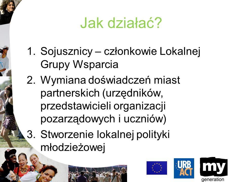 Równoległe działania w kraju Partnerzy pracują nad zagadnieniami omawianymi podczas spotkań – włączają tematykę projektu do swojej codziennej działalności – w Warszawie w konkursach na dotacje dla organizacji pozarządowych zagadnienie przeciwdziałania wykluczeniu społecznemu to jeden z priorytetów konkursu.