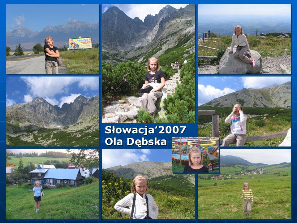 Ola Dębska Słowacja2007