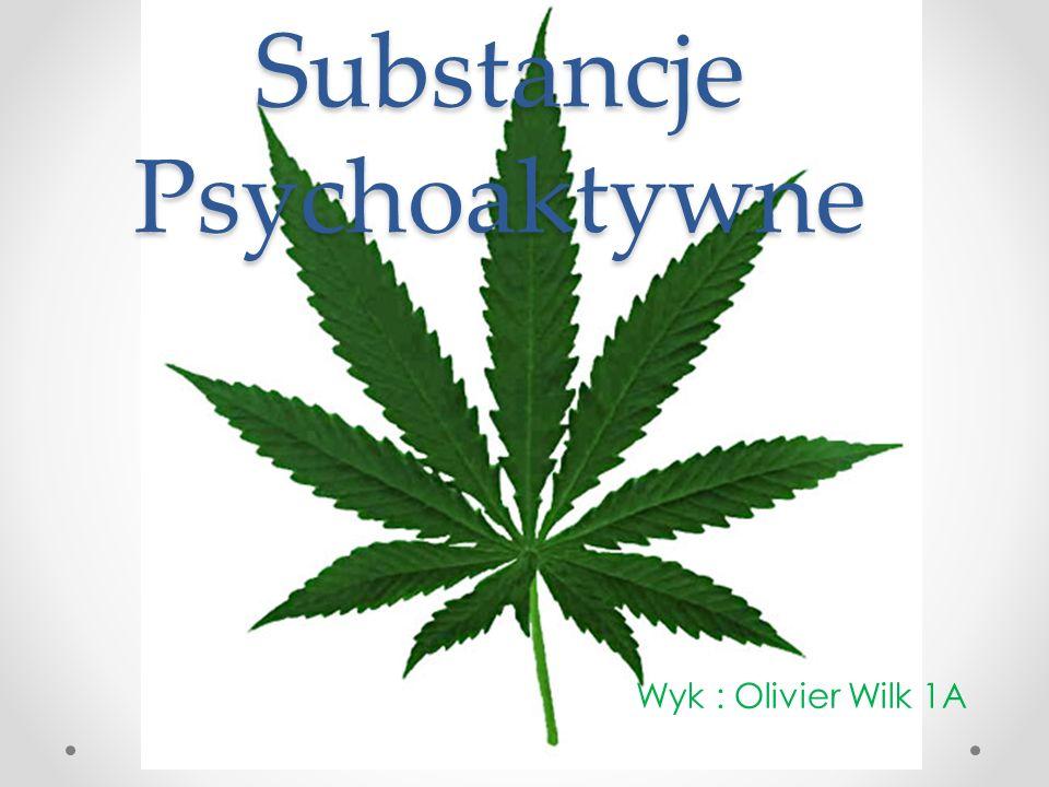 Substancje Psychoaktywne Wyk : Olivier Wilk 1A