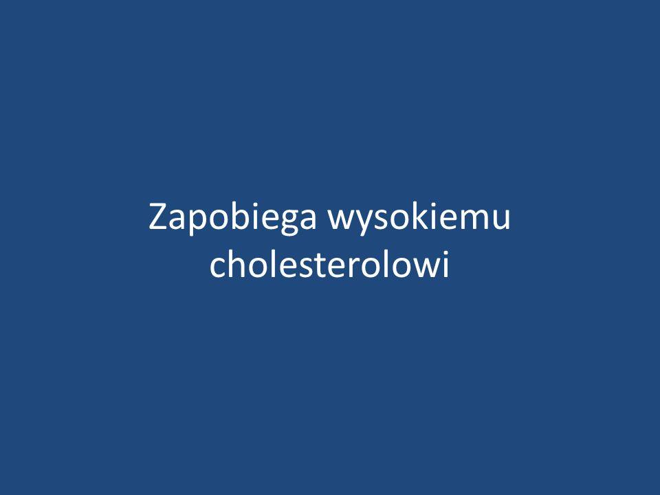 Zapobiega wysokiemu cholesterolowi