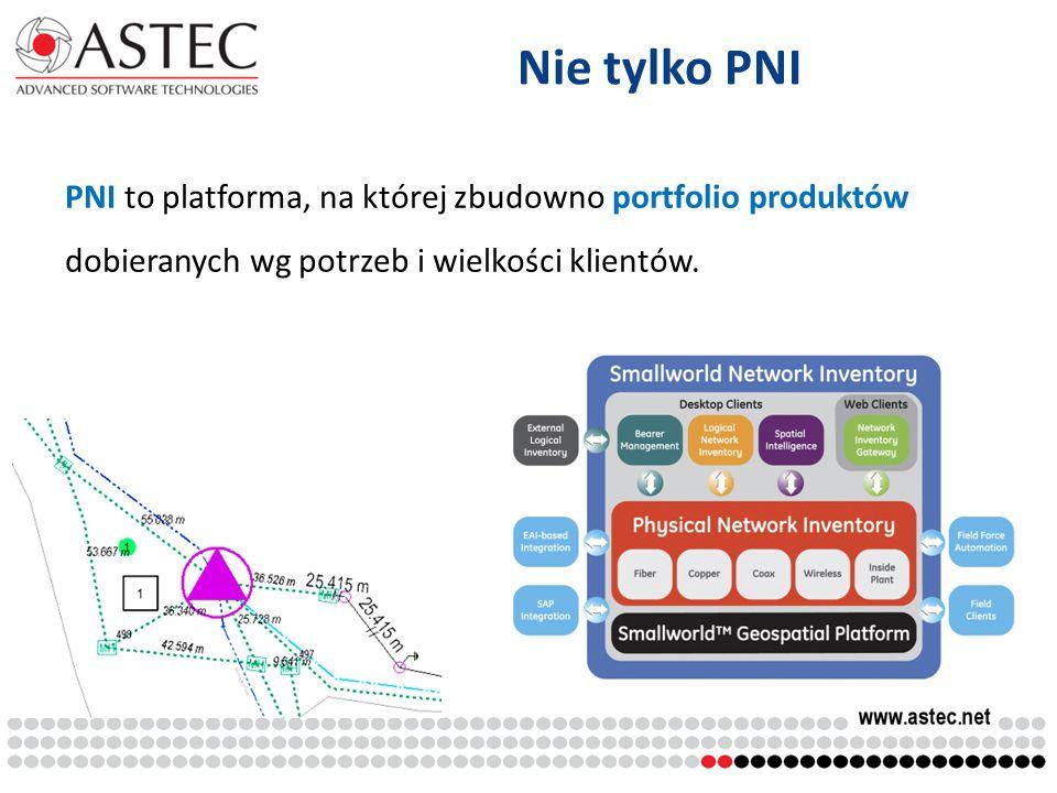 Nie tylko PNI PNI to platforma, na której zbudowno portfolio produktów dobieranych wg potrzeb i wielkości klientów.