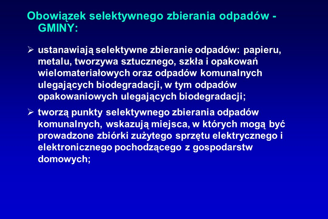Przekazanie obowiązków gminy Małe mogą na podstawie porozumienia przekazać ich wykonywanie innej gminie.