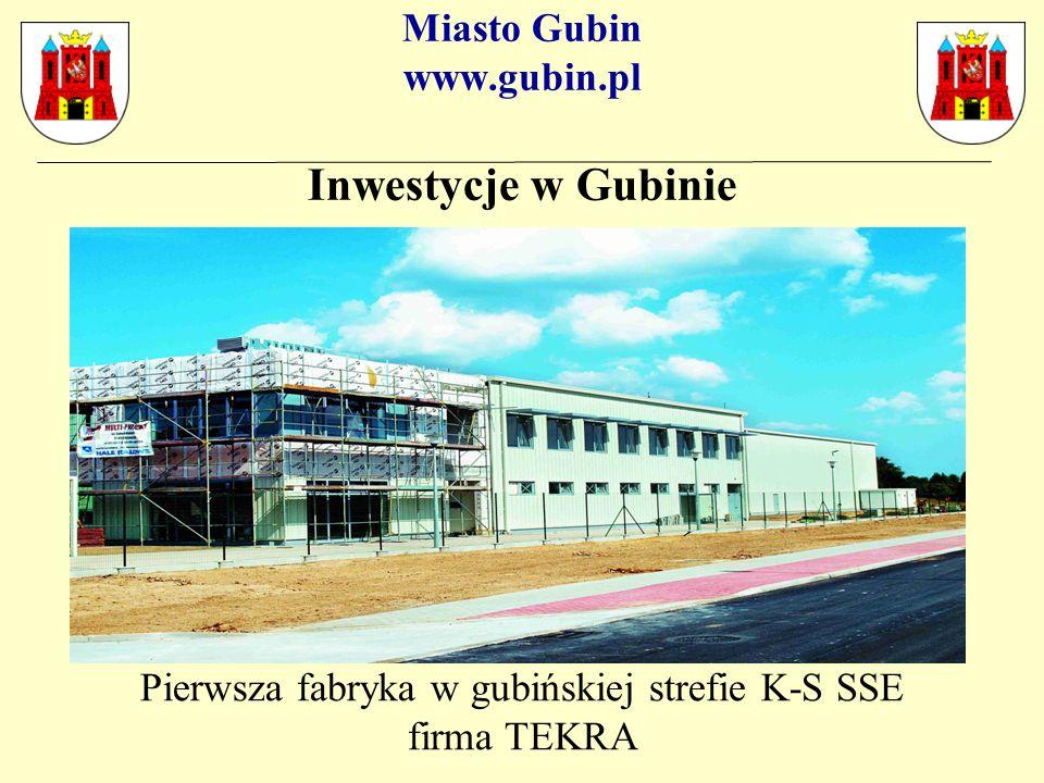 Miasto Gubin www.gubin.pl Tereny inwestycyjne w bezpośrednim sąsiedztwie granicy polsko-niemieckiej