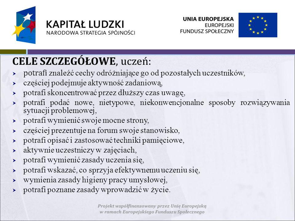 TEMATYKA POSZCZEGÓLNYCH ZAJĘĆTREŚCI 1.Zajęcia adaptacyjno - integracyjne.