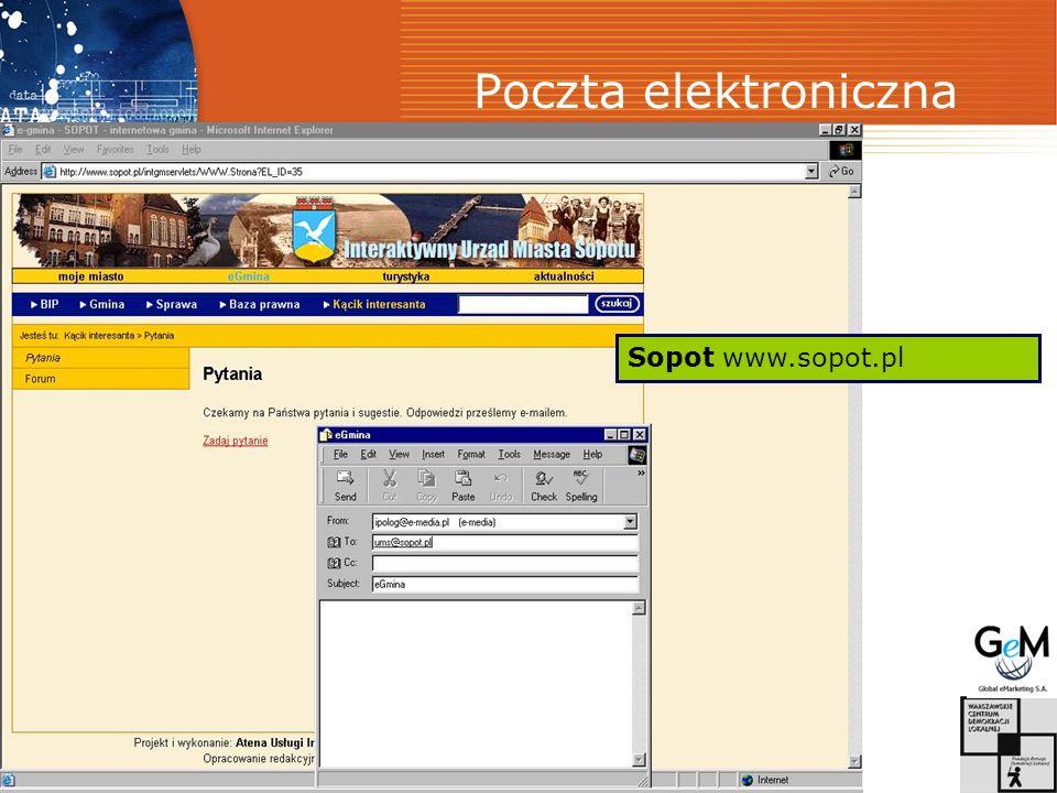 Poczta elektroniczna Sopot www.sopot.pl