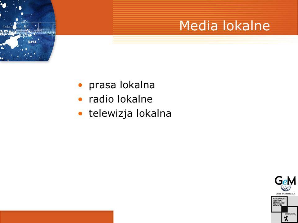 Funkcja mediów lokalnych Obieg informacji o życiu społeczności lokalnej w powiązaniu ze zbiorowością regionalną i krajową