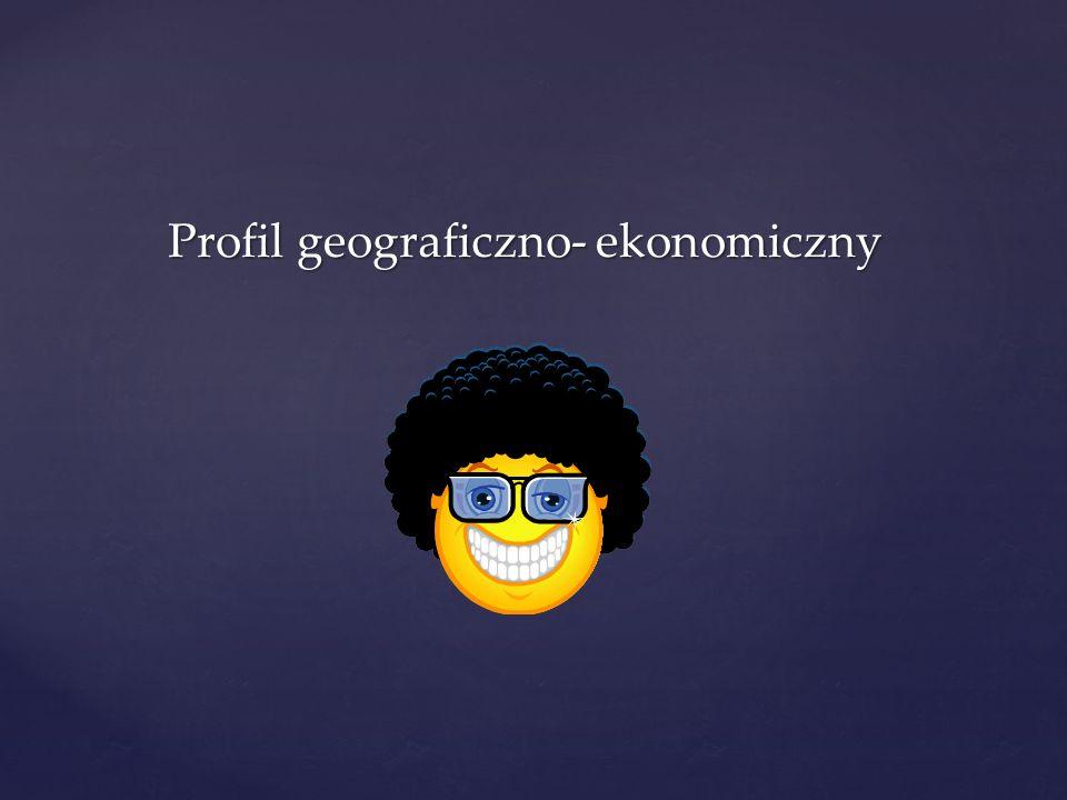 Profil geograficzno- ekonomiczny Profil geograficzno- ekonomiczny