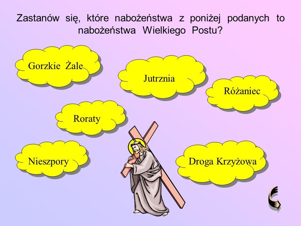 Która informacja jest prawdziwa .Niedziela Palmowa rozpoczyna Wielki Tydzień.