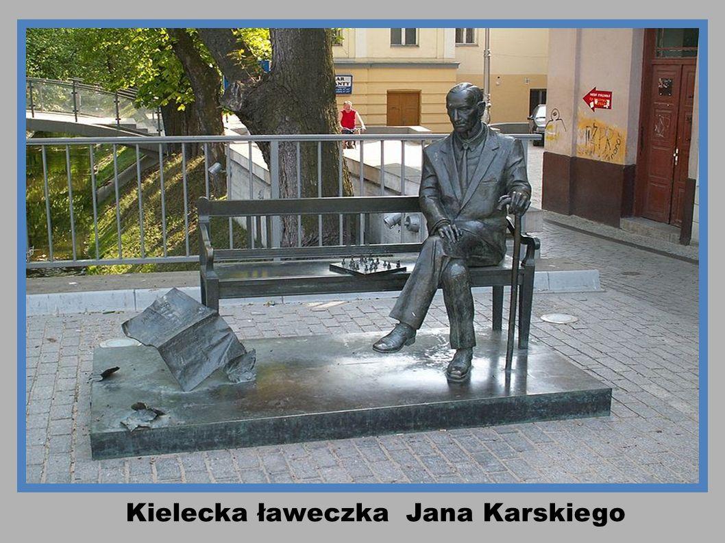 Kielecka ławeczka Jana Karskiego