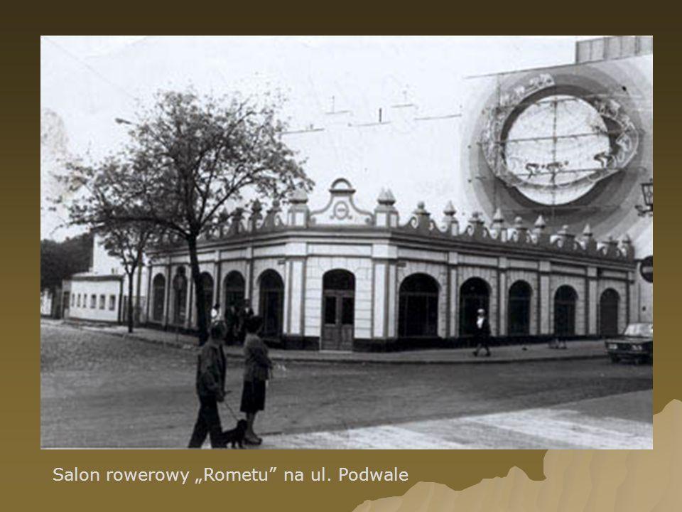 Salon rowerowy Rometu na ul. Podwale