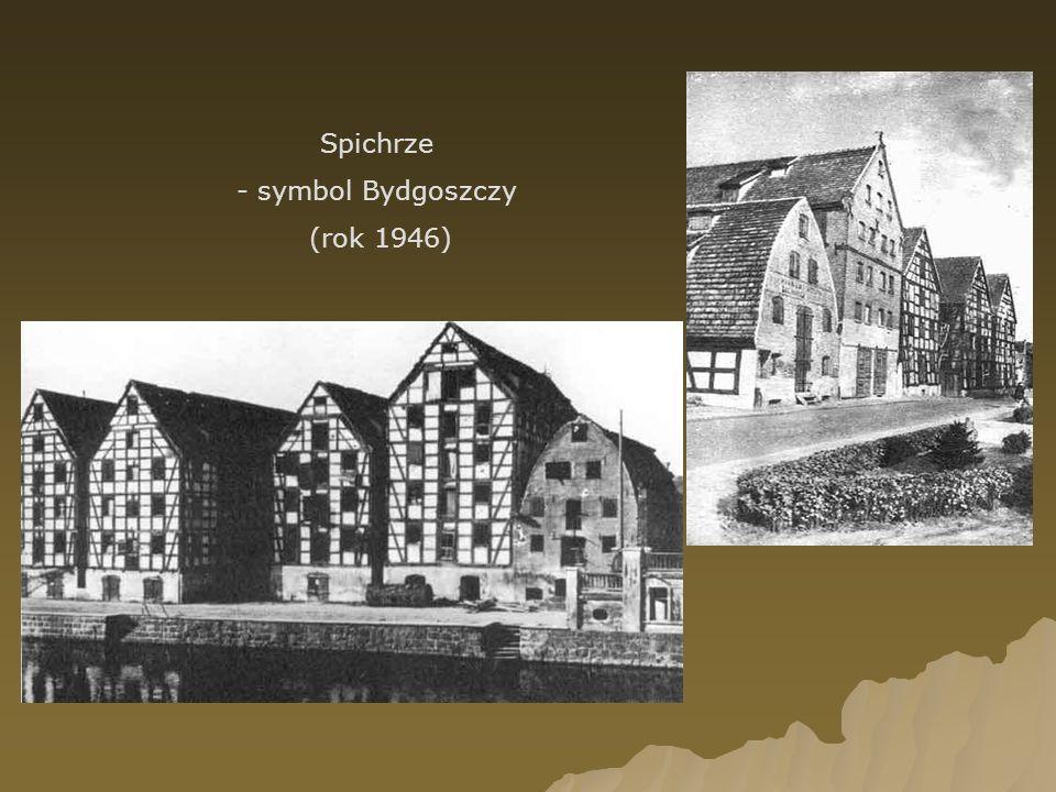 Spichrze - symbol Bydgoszczy (rok 1946)