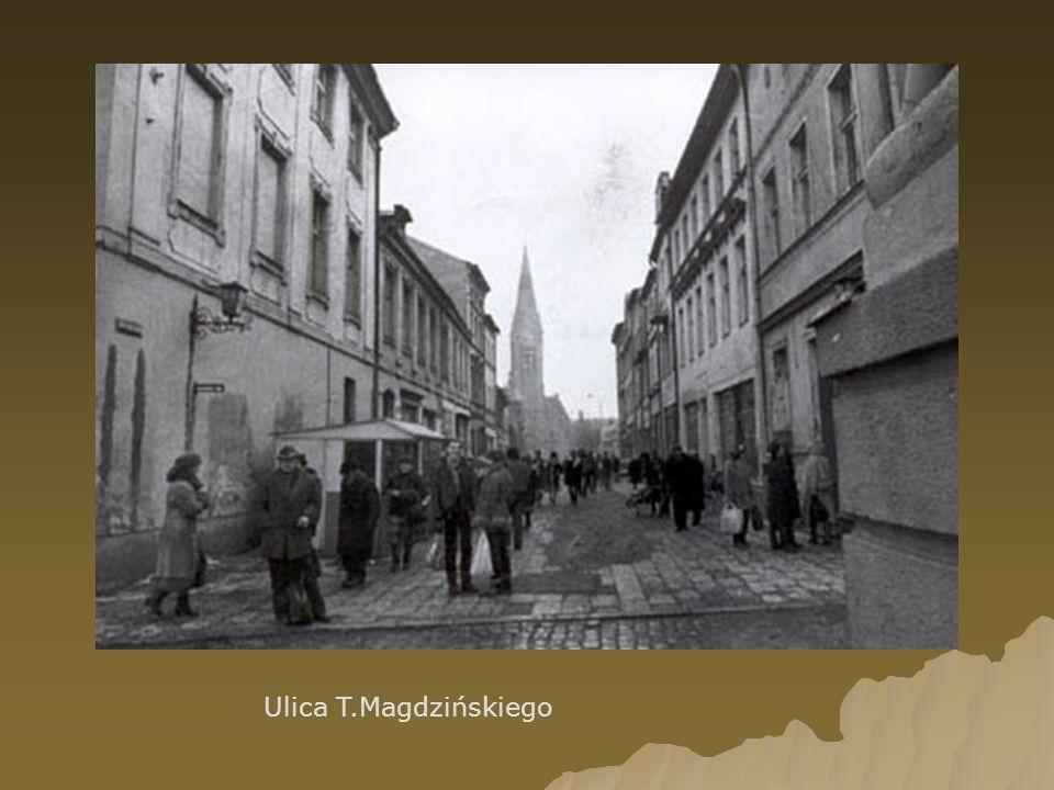 Ulica T.Magdzińskiego