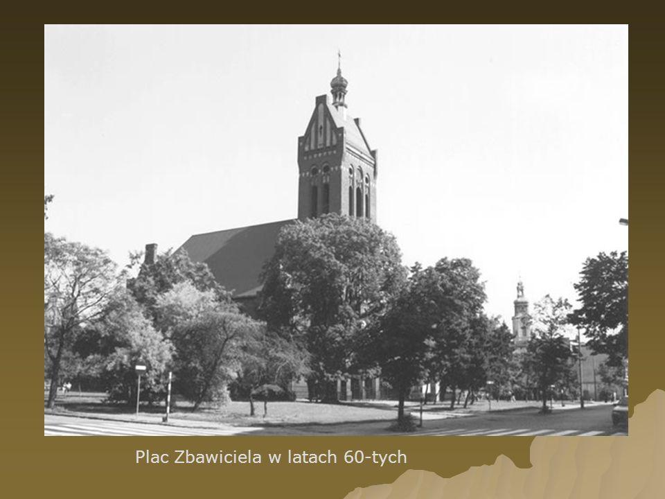 Plac Zbawiciela w latach 60-tych