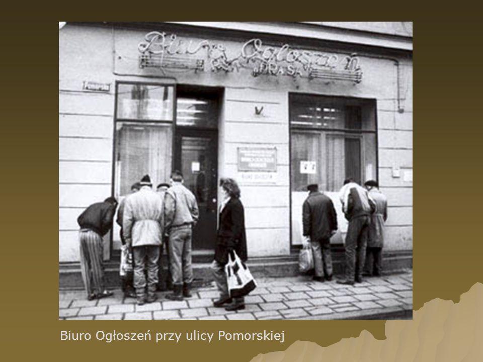 Biuro Ogłoszeń przy ulicy Pomorskiej