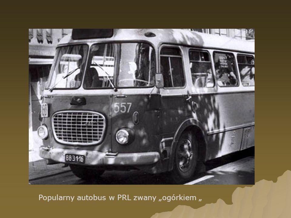 Popularny autobus w PRL zwany ogórkiem