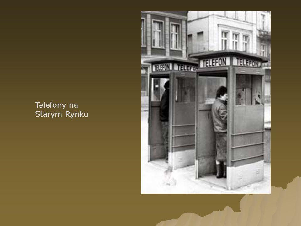 Telefony na Starym Rynku