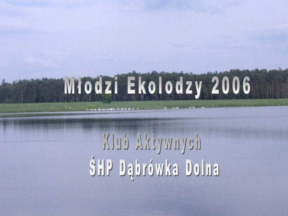 Dnia 24 maja 2006 roku odbyła się kolejna już wycieczka rowerowa w ramach programu MŁODZI EKOLODZY.