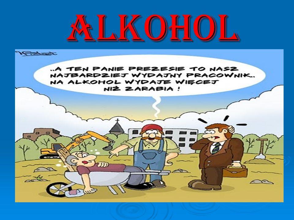 POZNAJEMY PODSTAWOWE POJ Ę CIA Alkohol w języku potocznym rozumie się zazwyczaj przez alkohol etylowy czyli napój alkoholowy.