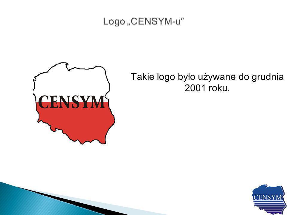 Takie logo było używane do grudnia 2001 roku.