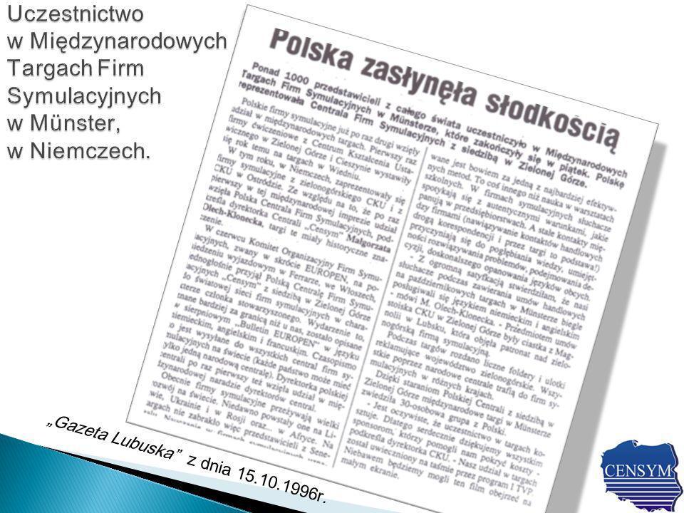 Gazeta Lubuska z dnia 15.10.1996r.