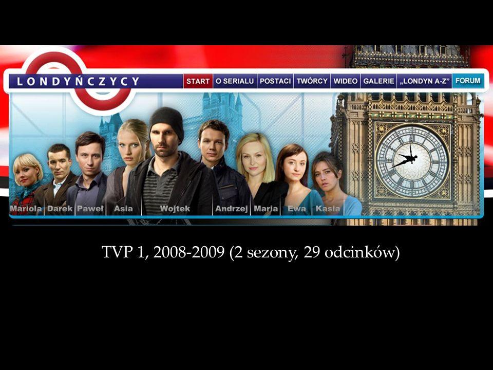 TVP 1, 2008-2009 (2 sezony, 29 odcinków)