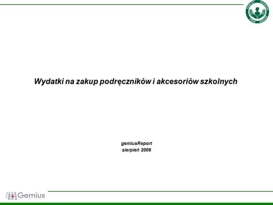 22 Jakiej części polskich rodzin, Pan(i)a zdaniem, nie stać na zakup pomocy szkolnych dla dzieci.