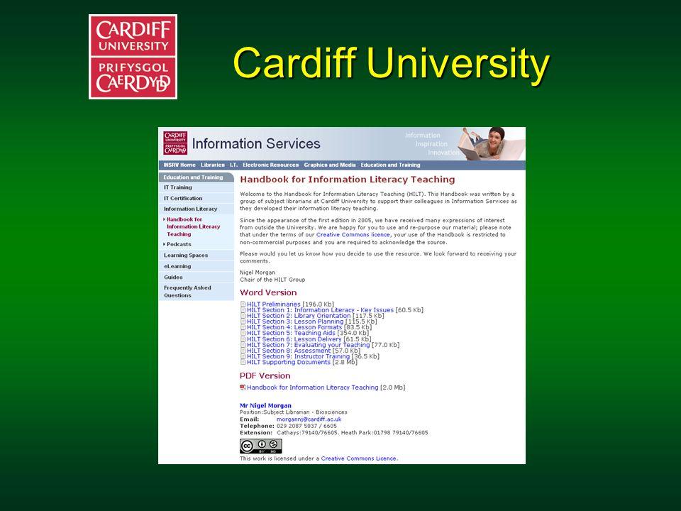 Cardiff University Cardiff University