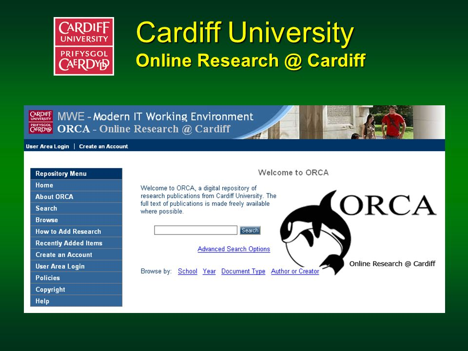 Cardiff University Online Research @ Cardiff