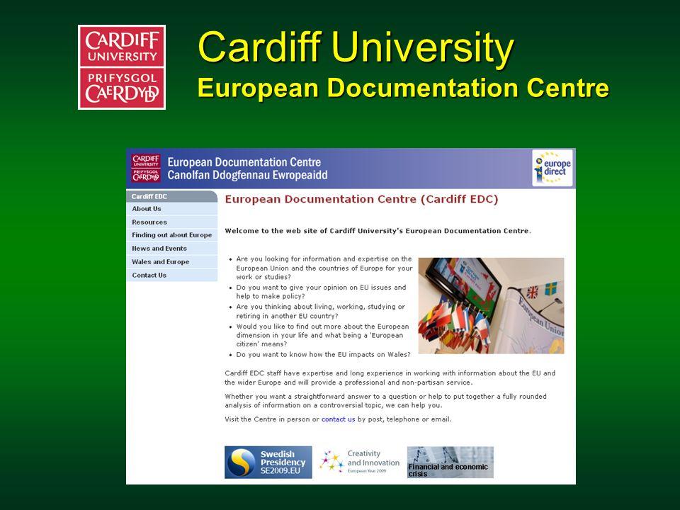 Szkoła Główna Handlowa Centrum Dokumentacji Europejskiej