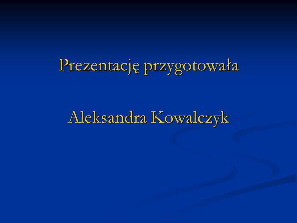 Prezentację przygotowała Aleksandra Kowalczyk