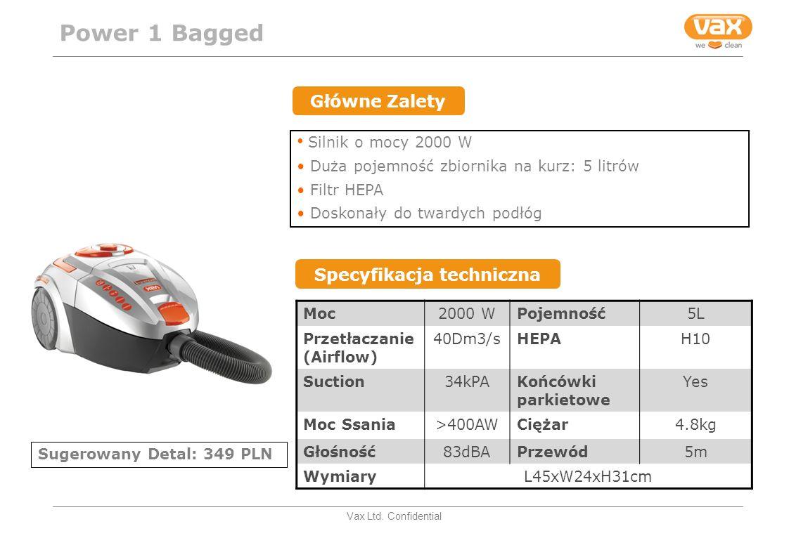 Vax Ltd.Confidential Cichy – tylko 65dBA min. i 74dBA max.