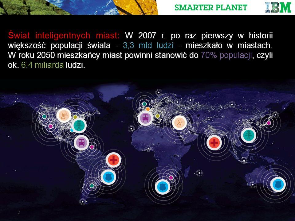 2 Świat inteligentnych miast: W 2007 r.