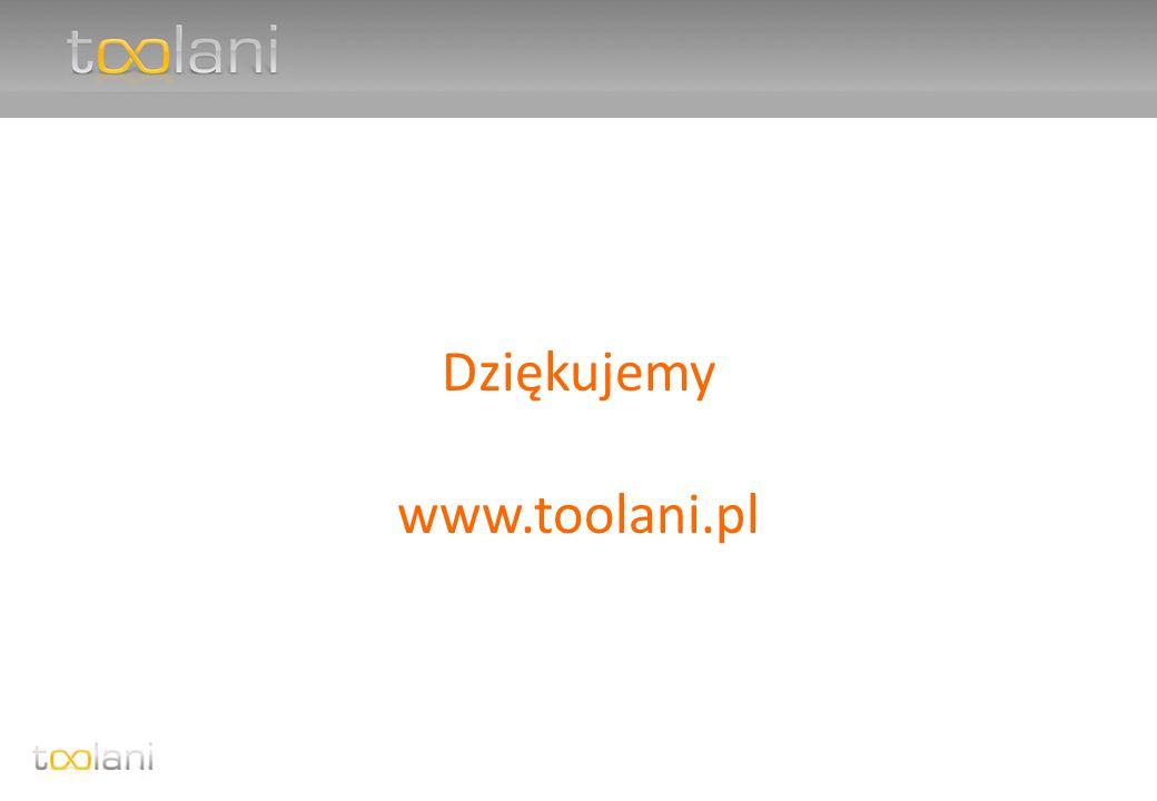 Dziękujemy www.toolani.pl